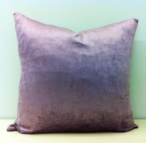 Decorative Pillow Lilac : Lilac Velvet Pillow Covers Lilac Velvet Pillow by artdecopillow