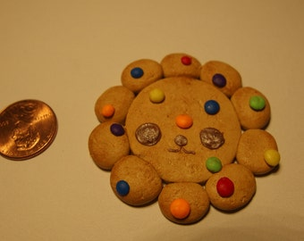 Polymer clay Lion cookie