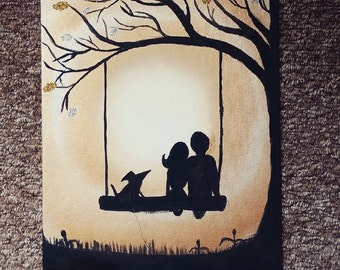 Family - Acrylic Art Painting