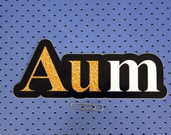 Aum Bumper Sticker