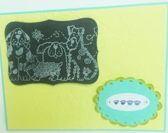 Happy Birthday Pet Lovers Card