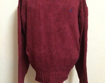Vintage Polo RALPH LAUREN Small Pony Knit Sweater