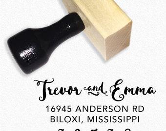 "Custom Rubber Stamp, Address Stamp, 2"" x 1.25"", WS421004"