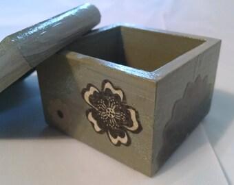Wooden Butterfly Box