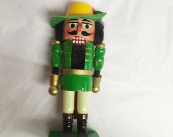 Hand Crafted Wood Nutcracker