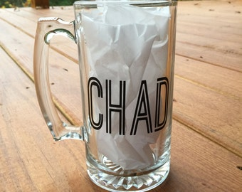 Personalized Beer Mug- Mug 28oz