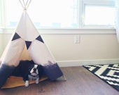 Dip Dyed Teepee - Large in Grey