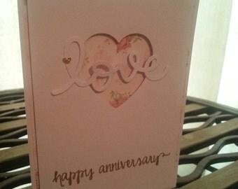 Anniversary /love card