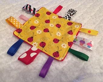 Ladybug Baby Sensory Crinkle Toy