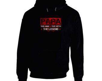 Grandfather hoodie. Grandpa hoodies for present. Grandfather hoodie idea for her or him. Buy Grandpa hoodie. Papa hoodie