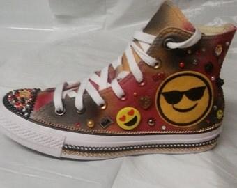 Emoji Converse shoes