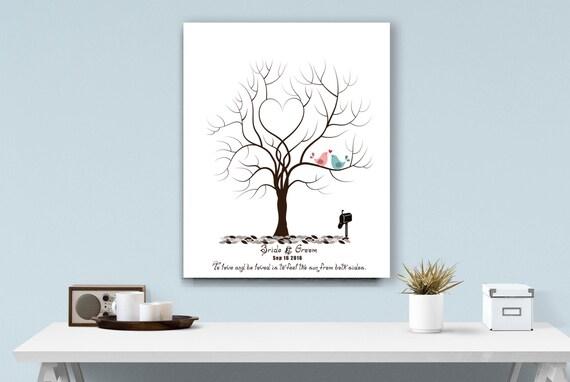 art arbre empreinte digitale mariage fait sur commande. Black Bedroom Furniture Sets. Home Design Ideas