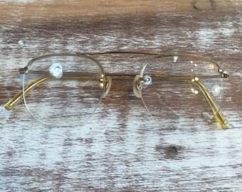 Vintage Metal Frame Glasses