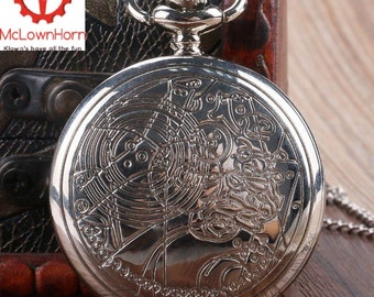 The Doctors Watch, Dr Who Pocket Watch ,The 10th Doctors Watch , Gallifreyan , Dr Who Pocket Watch , <<ON SALE!!>> , Christmas ,Time Lord