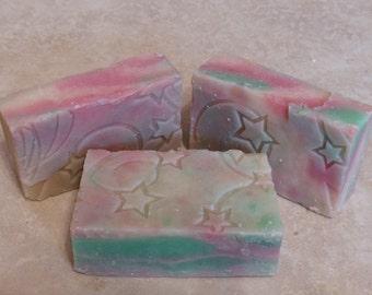 Lettuce Floral Handmade Cold Process Soap