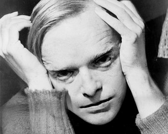 Truman Capote photo print poster photograph portrait writer photo author gift for writer In Cold Blood