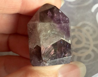 Auralite 23! Auralite Amethyst Point Dark Purple Stone of Peace and Tranquility!