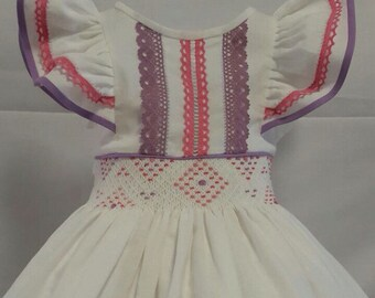 Baby and girl barbie dress, perfect for birtday parties, photos sessions vintage style! Spring and summer dress