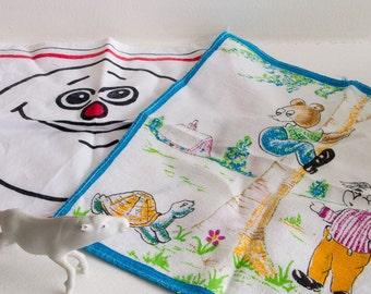 Set of two vintage handkerchiefs