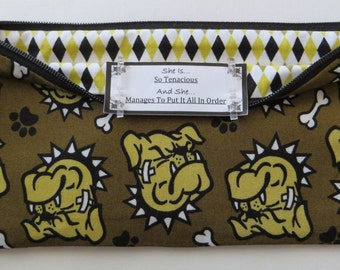 Persette #105 Personalized Zippered Organizing Pouch