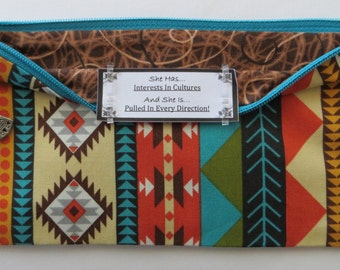 Persette #246 Personalized Zippered Organizing Pouch