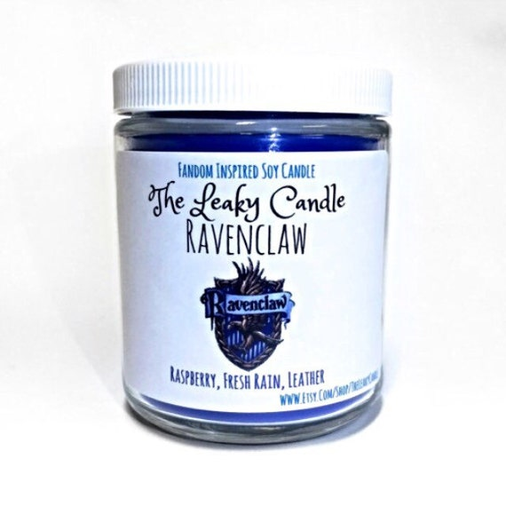 Ravenclaw -- Harry Potter inspired soy candle -- 8oz jar