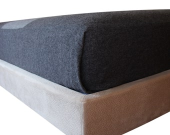 Classic Platform - a  bed frame for Queen/King/Full/Twin beds that is exceedingly cushioned, beautiful and easy.