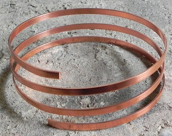 Copper band soft - 5 mm x 1.2 mm - 1 meter