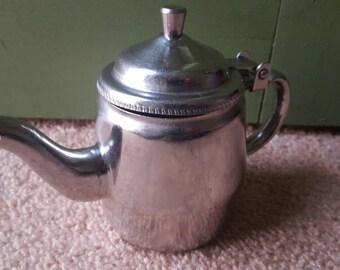 Vintage stainless steel Serco creamer / teapot #55771