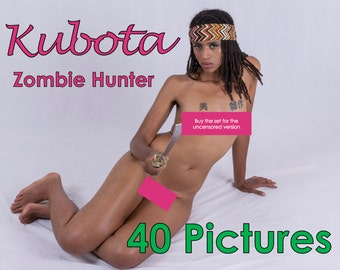 Kubota - Zombie Hunter - (Mature, Contains Nudity) - 40 Pictures