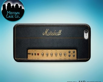 Marshall Guitar Amp Amplifier Rock Music Fun Cool Case for iPhone 6s Plus iPhone 6s iPhone 6 Plus iPhone 6 iPhone 5s iPhone 5 iPhone 5c