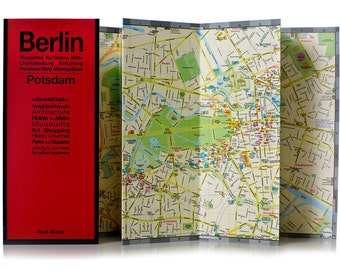 Red Map Berlin City Guide