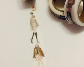 Modern Woman Washi Tape