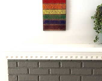 Gay pride wall art, rainbow wall art, gay flag, equal love, lgbt pride,