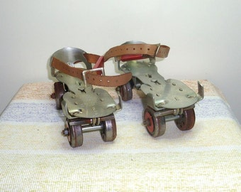 Union Roller Skates. Vintage roller skates from the 1950's  with most of the original box