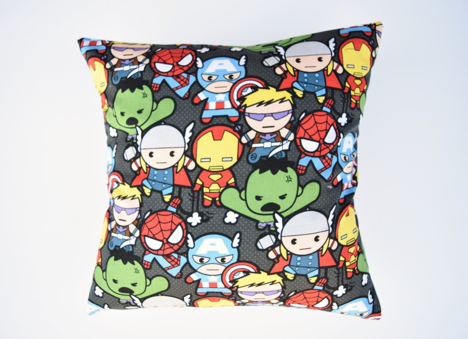Kawaii Avengers Throw Pillow Superheros Sofa Pillow