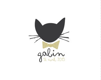 "Birth announcements ""Gabin"""
