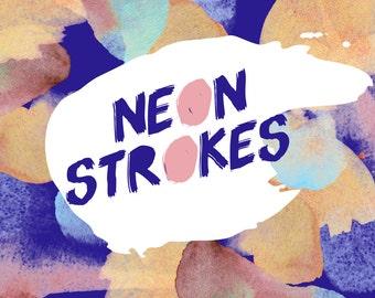 Neon Strokes