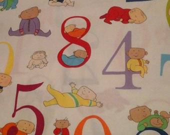 Infant Baby Fabric Alexander Henry Onesies 1 yard Cotton