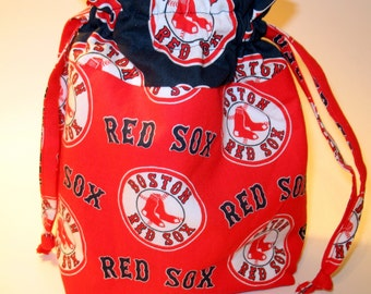 Red Sox - Drawstring Project Bag - Red Boston Red Sox