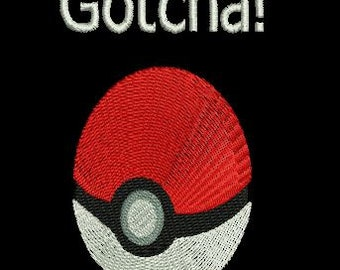 GOTCHA 4X4 EMBROIDERY file pokemon
