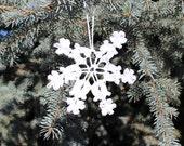 Hand-made Christmas ornaments - stars
