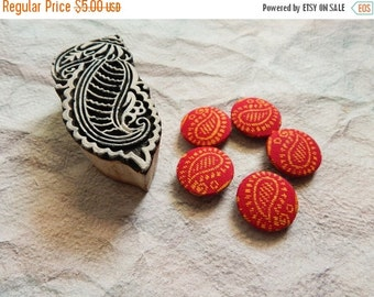 15% OFF Set of 5 Fabric Buttons, 20mm buttons, Floral Fabric Buttons, Decorative Buttons, Fabric Covered Buttons, Pink Buttons