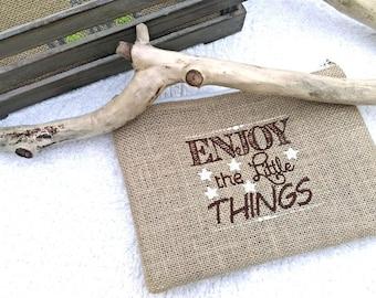 "Beach bag ""Enjoy the little things"""