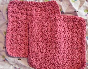 pink dish cloth dup