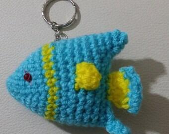 Fish keychain | Amigurumi