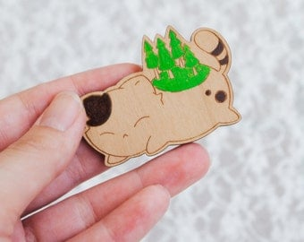 Forest Kitten Brooch