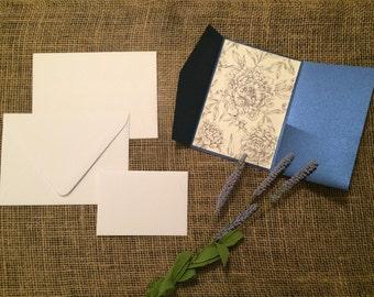 DIY Wedding Invitation Suite - Horizontal Side Pocket Design