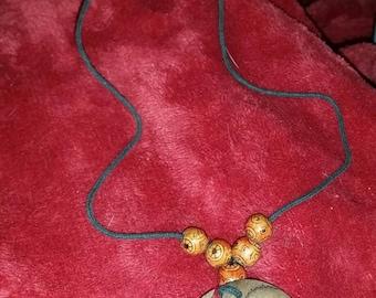 Unusal Beaded necklace