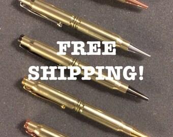 308 Caliber Bullet Pen